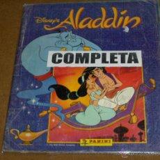 Coleccionismo Álbum: ALADDÍN ALADINO COMPLETO. PANINI AÑOS 90. WALT DISNEY.. Lote 41544189