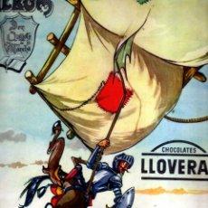 Coleccionismo Álbum: ÁLBUM DON QUIJOTE DE LA MANCHA CHOCOLATES LLOVERAS - ALB 1. Lote 41559371