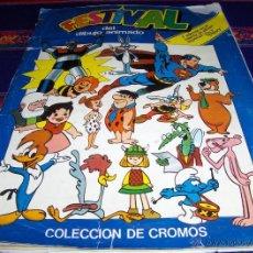 Coleccionismo Álbum: FESTIVAL DIBUJO ANIMADO COMPLETO Y WALT DISNEY COMPLETO. PACOSA DOS 1981.. Lote 41680975