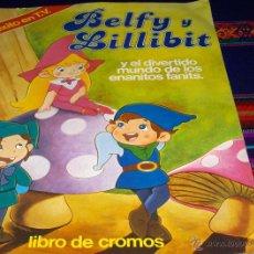 Coleccionismo Álbum: BELFY Y LILLIBIT COMPLETO 200 CROMOS. PACOSA DOS 1983. IMPECABLE.. Lote 41684279