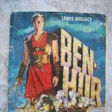 Coleccionismo Álbum: ALBUM BEN-HUR COMPLETO, 1960, PRIMERA EDICION,CHOCOLATE LOS MUÑECOS ALBACETE. Lote 41689340