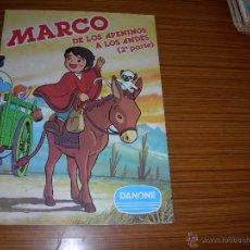 Coleccionismo Álbum: MARCO DE LOS APENINOS A LOS ANDES DE DANONE . Lote 41696696