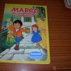Coleccionismo Álbum: MARCO DE LOS APENINOS A LOS ANDES DE DANONE . Lote 41696766