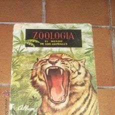 Coleccionismo Álbum: ZOOLOGIA. EL MUNDO DE LOS ANIMALES. FERCA.. Lote 14416553