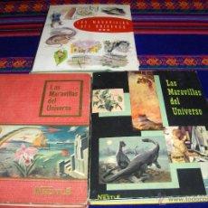 Coleccionismo Álbum: LAS MARAVILLAS DEL UNIVERSO NºS 1 Y 2 COMPLETO DE REGALO EL 3 INCOMPLETO. NESTLÉ. . Lote 41802679