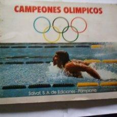 Coleccionismo Álbum: CAMPEONES OLIMPICOS -SALVAT - COMPLETO. Lote 42052341