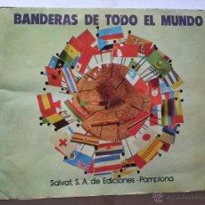 Coleccionismo Álbum: BANDERAS DE TODO EL MUNDO - SALVAT - COMPLETO. Lote 42052398