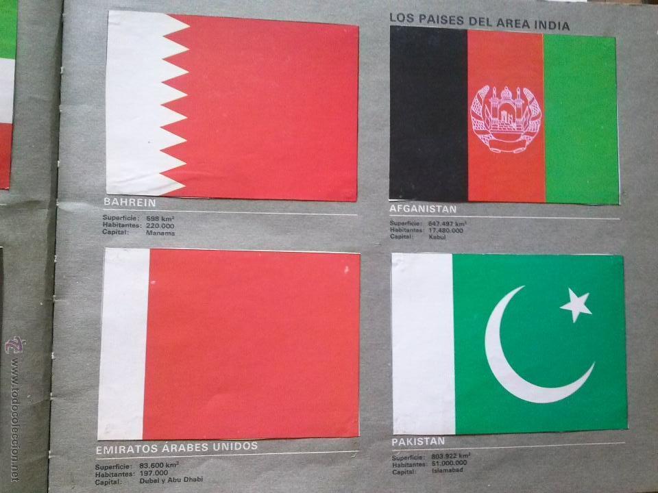 Coleccionismo Álbum: banderas de todo el mundo - salvat - completo - Foto 2 - 42052398