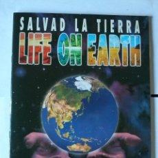 Coleccionismo Álbum: SALVAD LA TIERRA - CROMOSOL SL ITALY - COMPLETO -180 C.. Lote 42052427