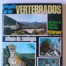 Coleccionismo Álbum: VERTEBRADOS-COLECOMPLETO ,320C. COLED-. Lote 42071566