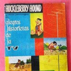 Coleccionismo Álbum: ÁLBUM COMPLETO. HUCKLEBERRY HOUND. ALEGRES HISTORIETAS DE LA TV. EDITORIAL FHER, 1963.. Lote 42090440