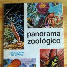 Coleccionismo Álbum: ALBUM 1973 PANORAMA ZOOLOGICO. EDIT RUIZ ROMERO. ANIMALES. COMPLETO. BUEN ESTADO. Lote 42102973