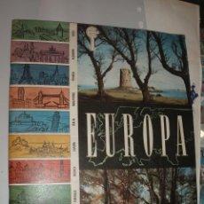 Coleccionismo Álbum: ALBUM EUROPA CHOCOLATES EUDOSIO LOPEZ,COMPLETO. Lote 42114056