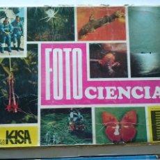 Coleccionismo Álbum: FOTO CIENCIAS - KEISA- COMPLETO-338 C-. Lote 42253035
