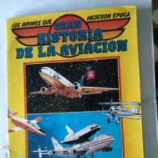 Coleccionismo Álbum: ALBUM GRAN HISTORIA DE LA AVIACION -TEXEIRA- COMPLETO -192 -PORTADAS COMO SE VE. Lote 42281862