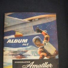 Coleccionismo Álbum: ALBUM DE CROMOS COMPLETO - ALBUM Nº 1 - CHOCOLATES AMATLLER - . Lote 42364955