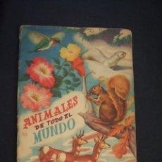 Coleccionismo Álbum: ALBUM DE CROMOS COMPLETO - ANIMALES DE TODO EL MUNDO - EDITORIAL FHER - . Lote 42383684