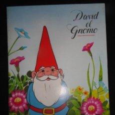 Coleccionismo Álbum: ALBUM CROMOS DANONE - DAVID EL GNOMO. . COMPLETO. Lote 42525283