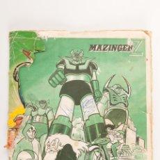 Coleccionismo Álbum: ALBUM COMPLETO MAZINGER Z EDITORIAL FHER, FALTA PORTADA. Lote 42648401