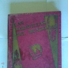Coleccionismo Álbum: ALBUM LAS MARAVILLAS DEL MUNDO -NESTLE -COMPLETO -. Lote 42748957