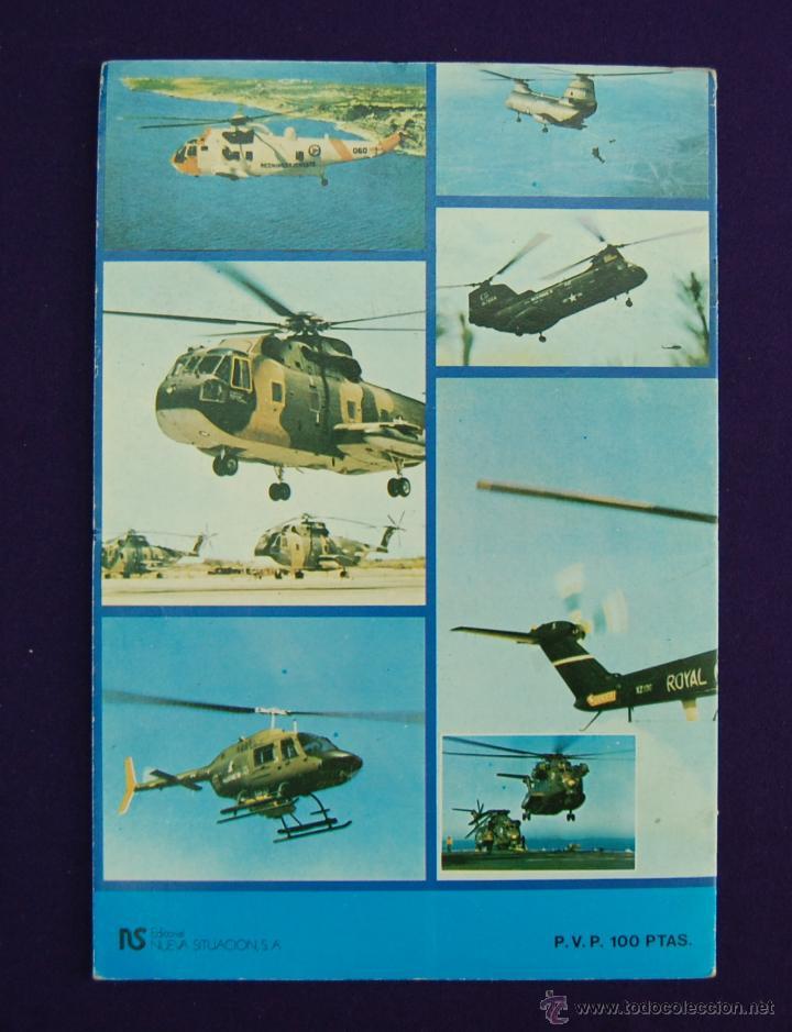 Coleccionismo Álbum: ALBUM DE CROMOS HELICOPTEROS. COMPLETO. EDITORIAL NUEVA SITUACION. AÑO 1980. - Foto 2 - 42818999