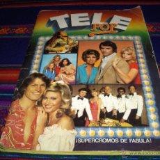 Coleccionismo Álbum: TELE POP COMPLETO 240 CROMOS. EDICIONES ESTE 1980.. Lote 42859766