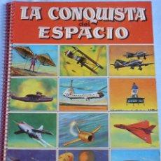 Coleccionismo Álbum: ALBUM LA CONQUISTA DEL ESPACIO, COMPLETO CROMOS SIN PEGAR.. Lote 42907336