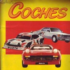 Coleccionismo Álbum: COCHES MOTOR16 - ÁLBUM COMPLETO. Lote 42917512