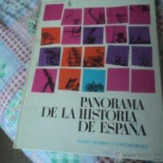 Coleccionismo Álbum: ÁLBUM PANORAMA DE LA HISTORIA DE ESPAÑA, EDADES MODERNA Y CONTEMPORÁNEA. DE NESTLÉ. 1966. COMPLETO.. Lote 43010436