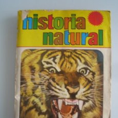 Coleccionismo Álbum: HISTORIA NATURAL. BRUGUERA 1967. ALBUM COMPLETO. 508 CROMOS. Lote 120712172
