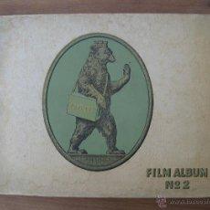 Coleccionismo Álbum: ÁLBUM DE CROMOS DE ARTISTAS DE CINE -JOSETTI- EPOCA 1930, FILM ALBUM NO.2, ANTIGUO ALEMAN. Lote 43100168