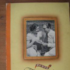 Coleccionismo Álbum: ÁLBUM DE CROMOS DE ARTISTAS DE CINE,EPOCA 1936, ANTIGUO ALEMAN. Lote 43107186