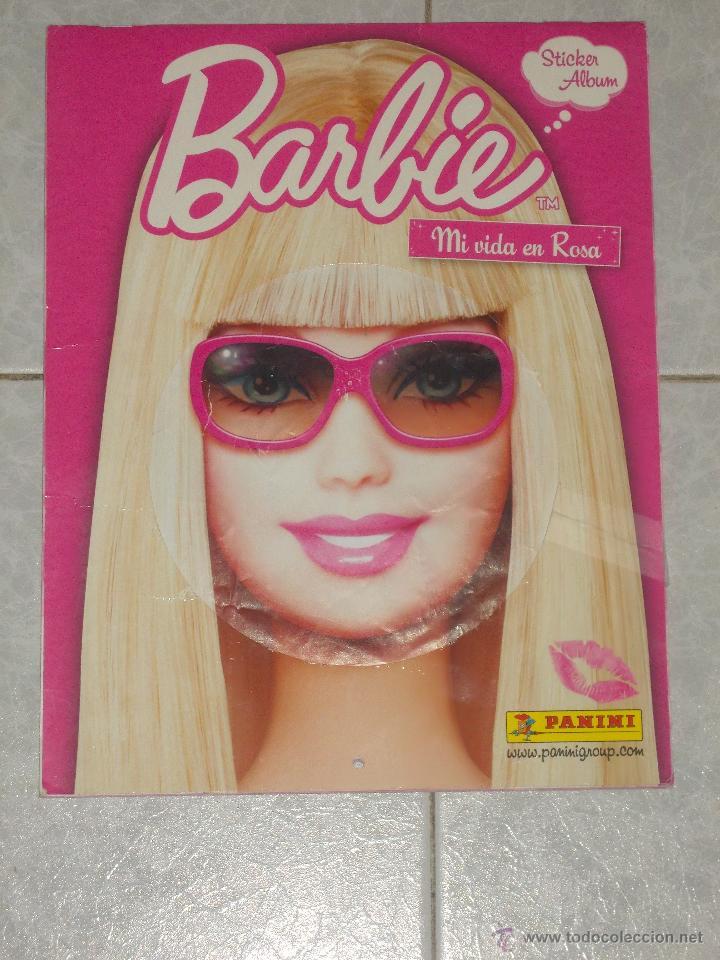 BARBIE-MI VIDA EN ROSA-ALBUM COMPLETO-PANINI (Coleccionismo - Cromos y Álbumes - Álbumes Completos)