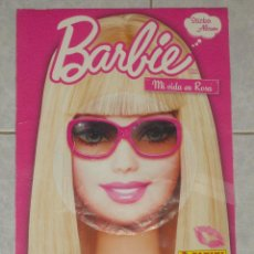 Coleccionismo Álbum: BARBIE-MI VIDA EN ROSA-ALBUM COMPLETO-PANINI. Lote 43188584