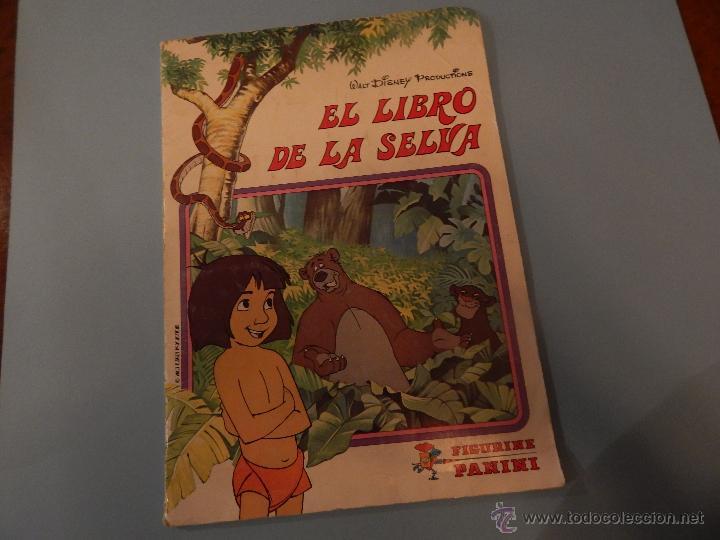 EL LIBRO DE LA SELVA (Coleccionismo - Cromos y Álbumes - Álbumes Completos)