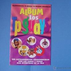 Coleccionismo Álbum: ALBUM LOS TP GUAYS (AÑOS 90) -SIMPSON, GILA, CHICHO, EUGENIO...- ¡COMPLETO: 100 CROMOS! ¡ORIGINAL!. Lote 43241876