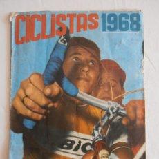 Coleccionismo Álbum: ALBUM CICLISTAS 1968 EDICIONES LAIDA COMPLETO. Lote 43259519