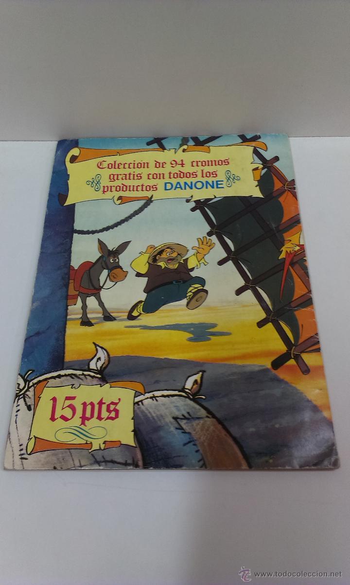Coleccionismo Álbum: ALBUM DE CROMOS DON QUIJOTE DE LA MANCHA DE DANONE COMPLETO - Foto 2 - 43300521