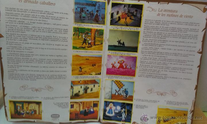 Coleccionismo Álbum: ALBUM DE CROMOS DON QUIJOTE DE LA MANCHA DE DANONE COMPLETO - Foto 5 - 43300521