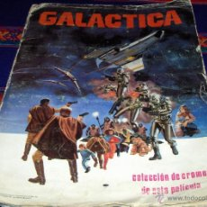 Coleccionismo Álbum: GALACTICA COMPLETO 243 CROMOS. MAGA 1979. REGALO AUTO FLASH INCOMPLETO.. Lote 43306724