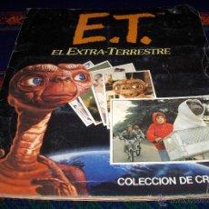 Coleccionismo Álbum: ET E T EL EXTRATERRESTRE COMPLETO 120 CROMOS. EDICIONES ESTE 1982.. Lote 43448723