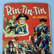 Coleccionismo Álbum: ALBUM DE RIN TIN TIN EDITORIAL FHER AÑO 1962 COMPLETO 288 CROMOS. Lote 43531220