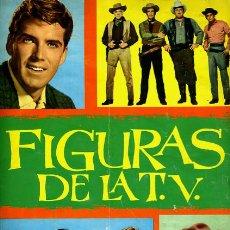 Coleccionismo Álbum: ALBUM FIGURAS DE LA TV , COMPLETO , FHER , 180 CROMOS , ORIGINAL ,K. Lote 43551609