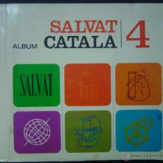 Coleccionismo Álbum: ALBUM DE CROMOS SALVAT CATALÀ 4- 1970- COMPLETO. Lote 43572108