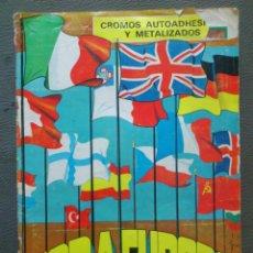 Coleccionismo Álbum: ALBUM CROMOS COMPLETO - TODA EUROPA - DIFUSORA DE CULTURA, S.A. -. Lote 43689079