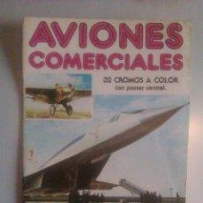 Coleccionismo Álbum: AVIONES COMERCIALES. Lote 43754711