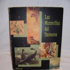 Coleccionismo Álbum: LAS MARAVILLAS DEL UNIVERSO, ALBUM COMPLETO DE NESTLE. II VOLUMEN. 1957.. Lote 43847944