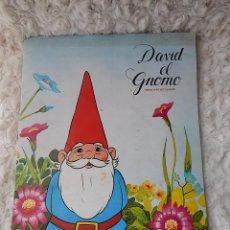 Coleccionismo Álbum: ALBUM DE CROMOS DAVID EL GNOMO. Lote 44154969
