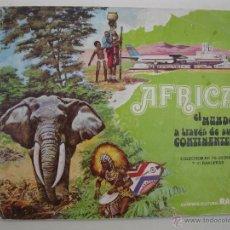 Coleccionismo Álbum: ÁLBUM DE CROMOS - ÁFRICA - EL MUNDO A TRAVÉS DE SUS CONTINENTES - COMPLETO - LECHE RAM - AÑOS 70.. Lote 44242280