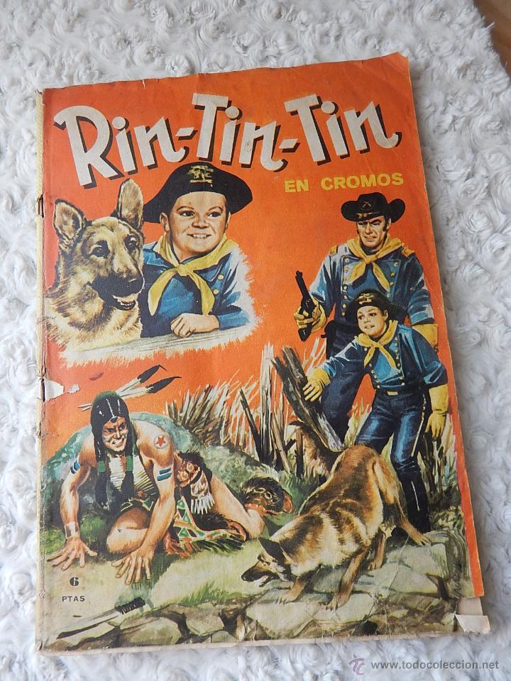 ALBUM DE CROMOS RIN - TIN - TIN (Coleccionismo - Cromos y Álbumes - Álbumes Completos)